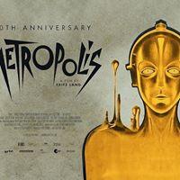 Metropolis (1927) with Live Score by a Flutist