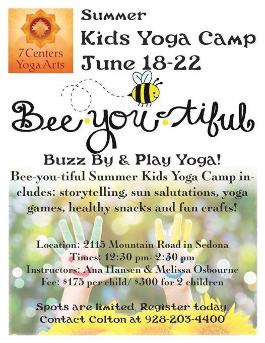 Summer Kids Yoga Camp
