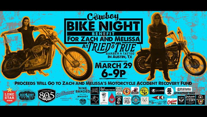 Bike Night Benefit for Zach and Melissa at Tried & True