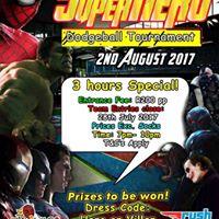 Superhero Dodgeball Tournament