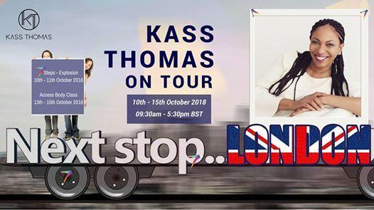 Kass Thomas on Tour in London