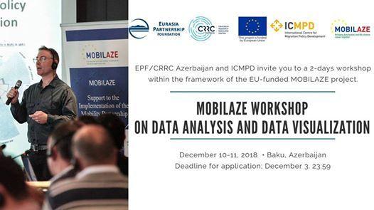 Mobilaze workshop on data analysis and data visualization