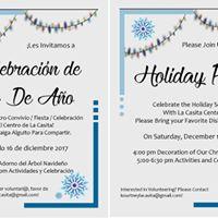 Holiday Party  Celebracin de Fin De Ao
