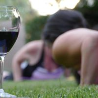 Evening Wine  Yoga