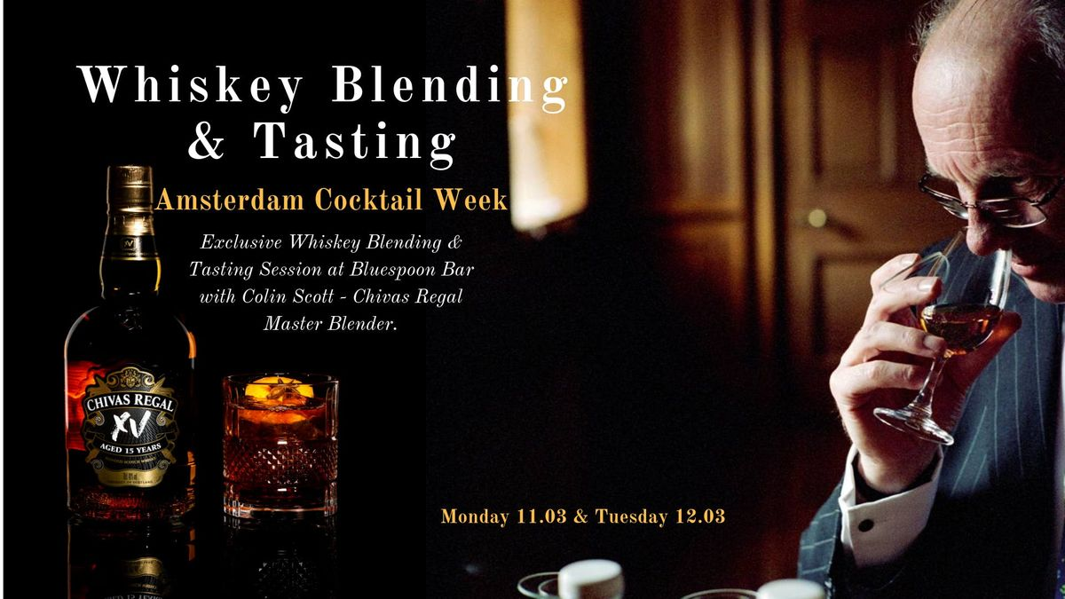 Whiskey Blending Session x Colin Scott x Amsterdam Cocktail Week