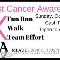 Meade District Hospital Breast Cancer Awareness 5K