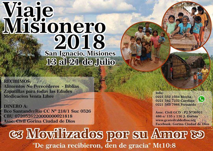 Viaje Misionero 2018