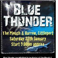 Blue Thunder at The Plough &amp Harrow Littleport