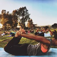 Sunset Hip Hop Yoga