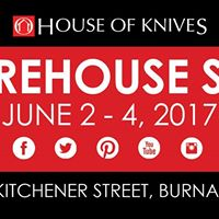 House of Knives Warehouse Sale