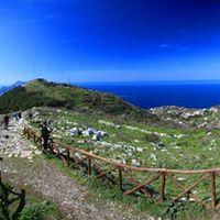 Wandern an der Amalfikste Halbinsel von Sorrento