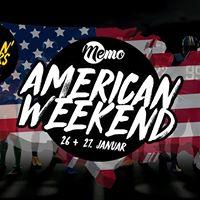 American Weekend  Memo Haderslev  26 27 januar