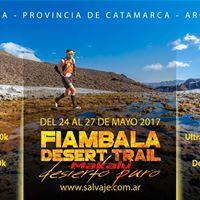 4 Fiambala Desert Trail Fiamb. - Catamarca (De 15 a 170 Km)