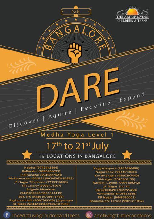 DARE - Medha Yoga Level 1