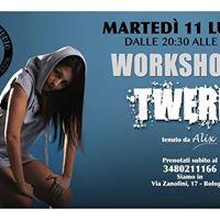Twerk workshop con Alix