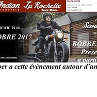 SCOUT Bobber PARTY Lancement Indian SCOUT Bobber
