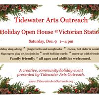 Holiday Open House with Tidewater Arts Outreach