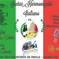 Jantar Italiano Harmonizado &quotFestival Charitas Music&quot