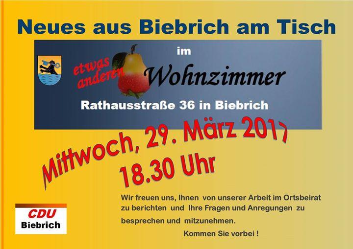 Neues Aus Biebrich At Das Etwas Andere Wohnzimmer Wiesbaden