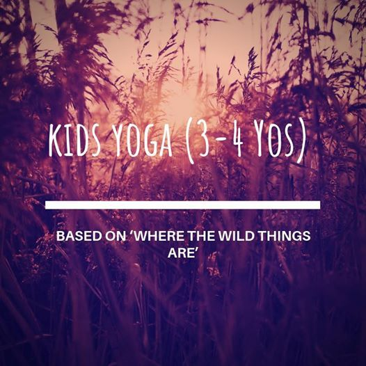 Kids Yoga(3-4 yos) based on Where the Wild Things Are