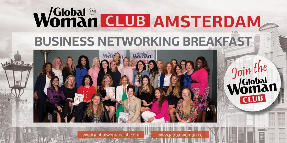 GLOBAL WOMAN CLUB AMSTERDAM BUSINESS NETWORKING BREAKFAST - MARCH