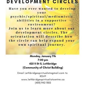 Orientation to PsychicMediumistic Development Circles