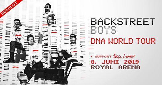 Backstreet Boys  [Support Mic Lowry]  Royal Arena  Udsolgt