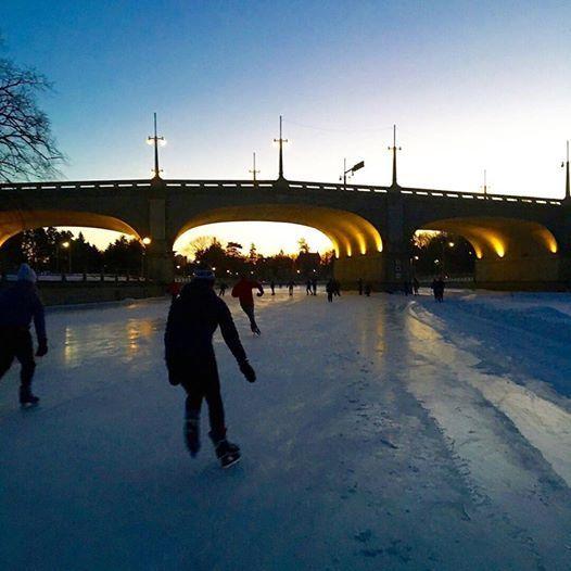 November Project Ottawa on ICE