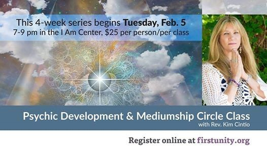 Pschic Development & Mediumship Circle Class