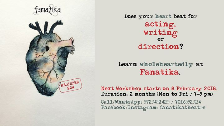Acting Writing Direction Workshop