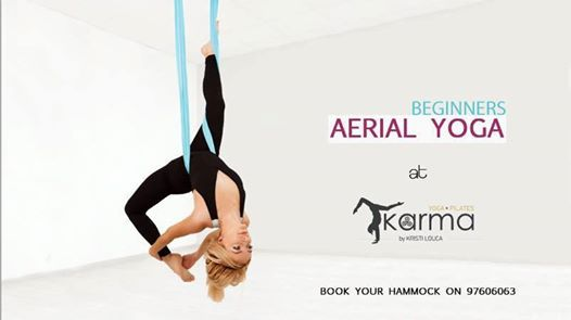 Aerial Yoga Class - For Beginners