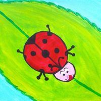 Kids Class - Ladybug - Cookies &amp Canvas