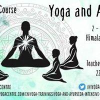 Yoga and Ayurveda Intensive Yoga Course with Sharat Arora