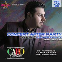 Ehsan Khaje Amiri Concert After Party
