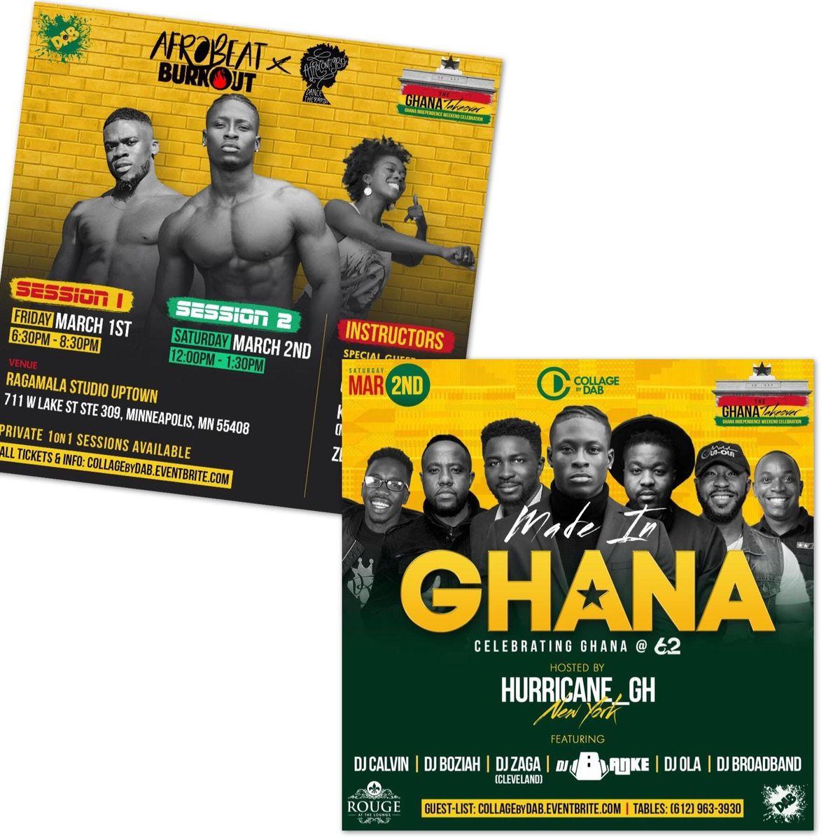 Ghana Takeover 2019
