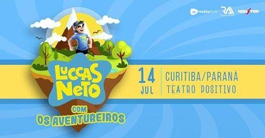 Luccas Neto com Os Aventureiros - Teatro Positivo