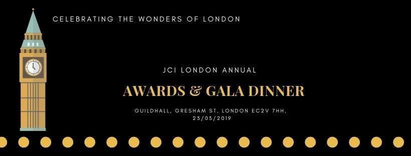 JCI London Awards and Gala Dinner