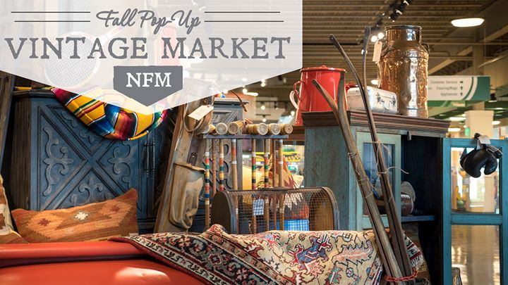 Fall Pop Up Vintage Market NFM   Kansas City At Nebraska Furniture Market, Kansas  City