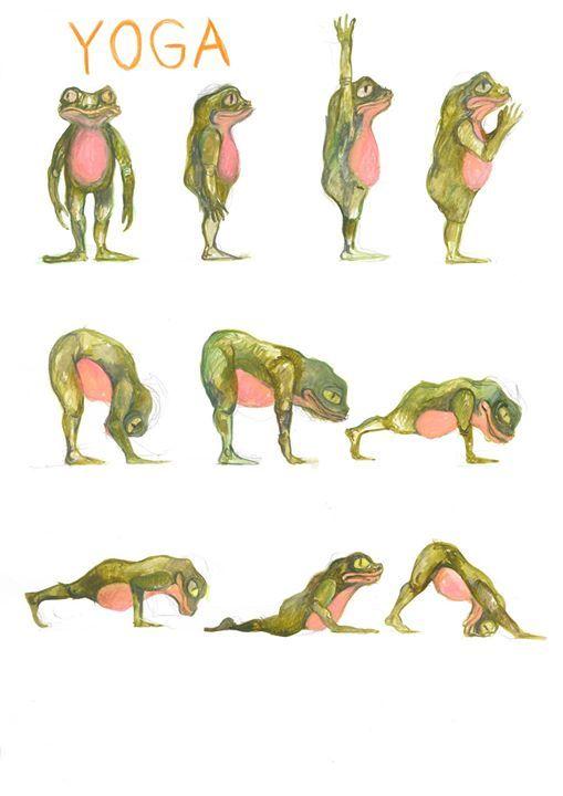 Lrdags yoga med karen