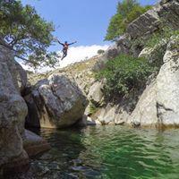 Canyoning pe insula Samothraki - Grecia