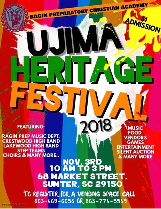 Ujima Heritage Festival 2018 at Ragin Preparatory Christian