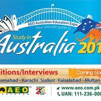AEO Australian Education Expo - Islamabad
