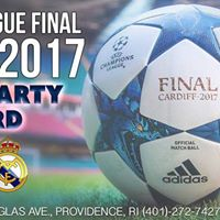 Champions League FINAL Saturday June 3rd 2017 at Ladder 133