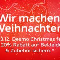 DESMO Christmas - 20 % Rabatt