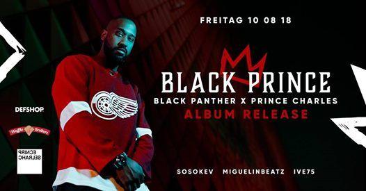 Black Prince - Black Panther x Prince Charles