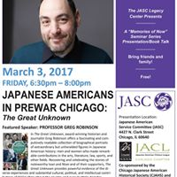Memories of Now Japanese Americans in Prewar Chicago