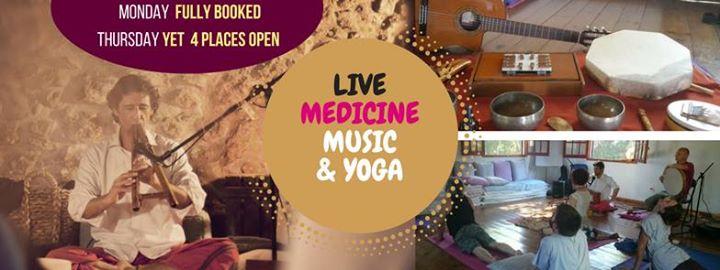 Healing power of Yoga & Live music