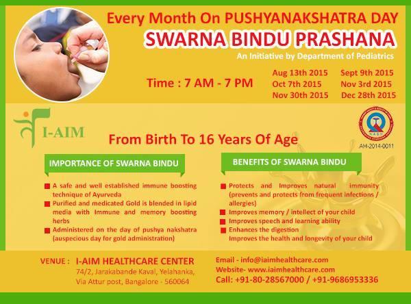 swarna bindu prasana In pediatric disorders, some herbo-metallic formulations have also found in  routine practice such as swarna prashana,krimi kuthara rasa.