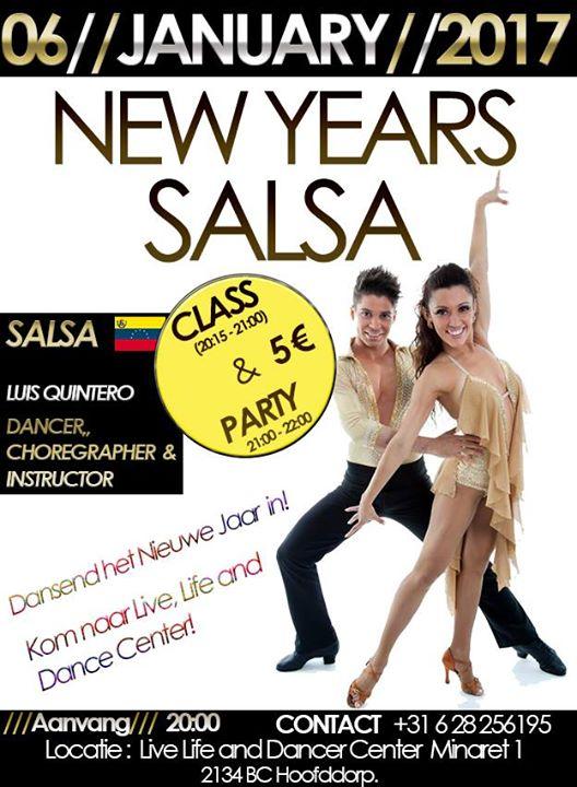 Salsa workshop at Live Life & Dance Center, Hoofddorp