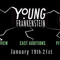 Young Frankenstein Crew Interviews Cast  Pit Auditions